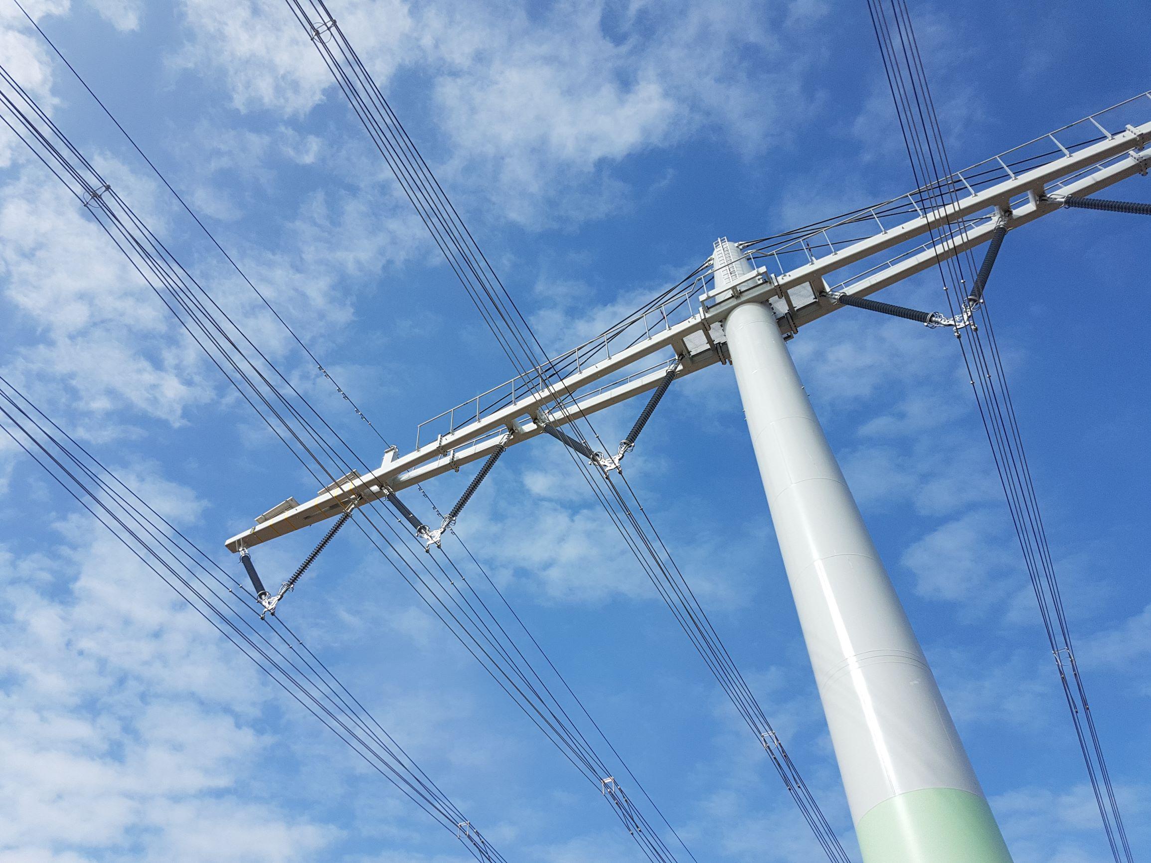 Freileitungsbau-Hochspannung-Höchstspannung-Energieleitung-Trassen-Bildnachweis-SPIE