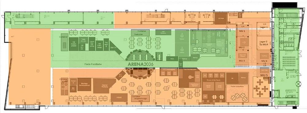 Gebäudegrundriss_Integrierter Begehungsprozess - Bildnachweis SPIE