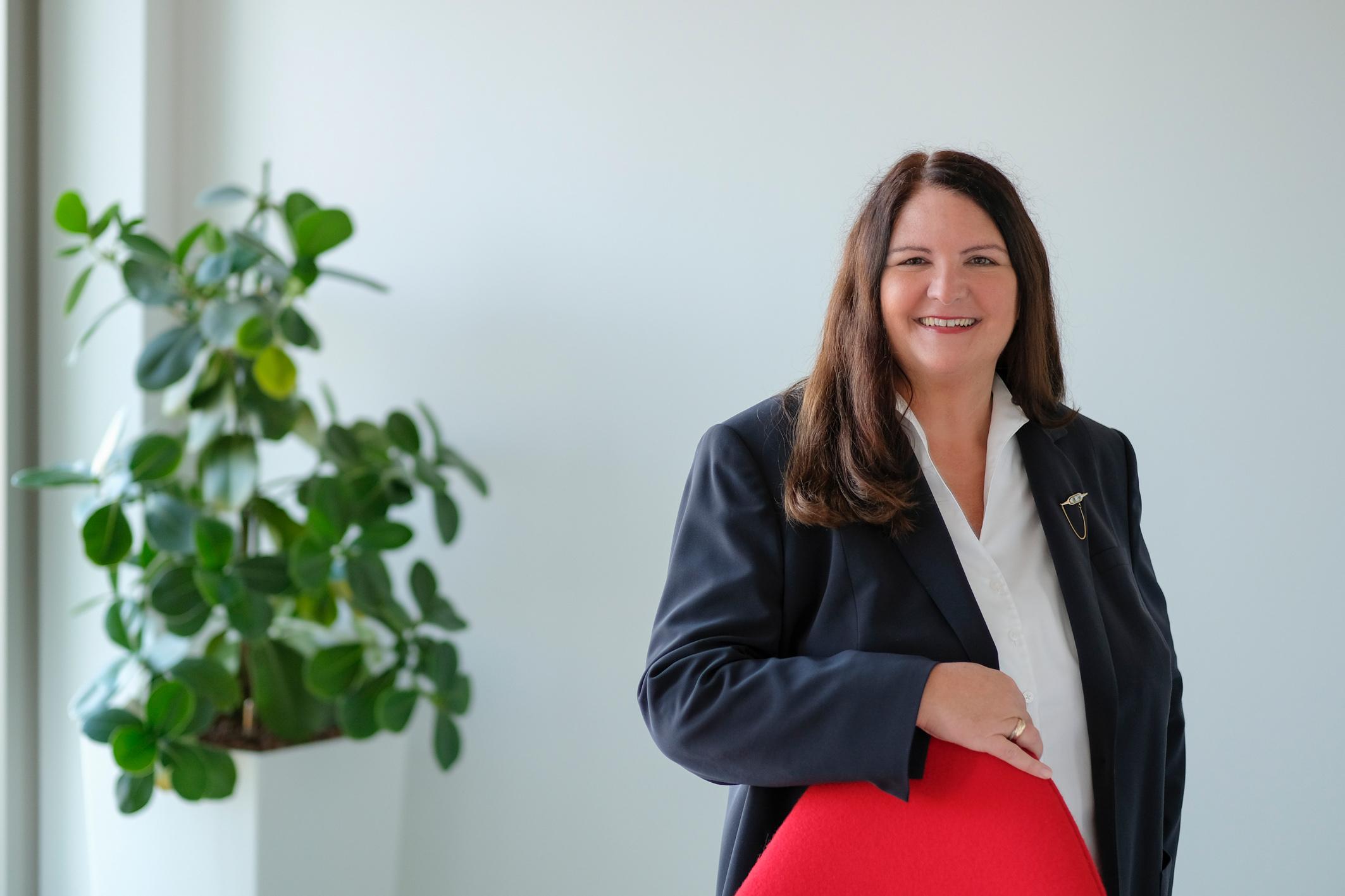Bianca Stöhr, Leiterin Personal - Bildnachweis SPIE