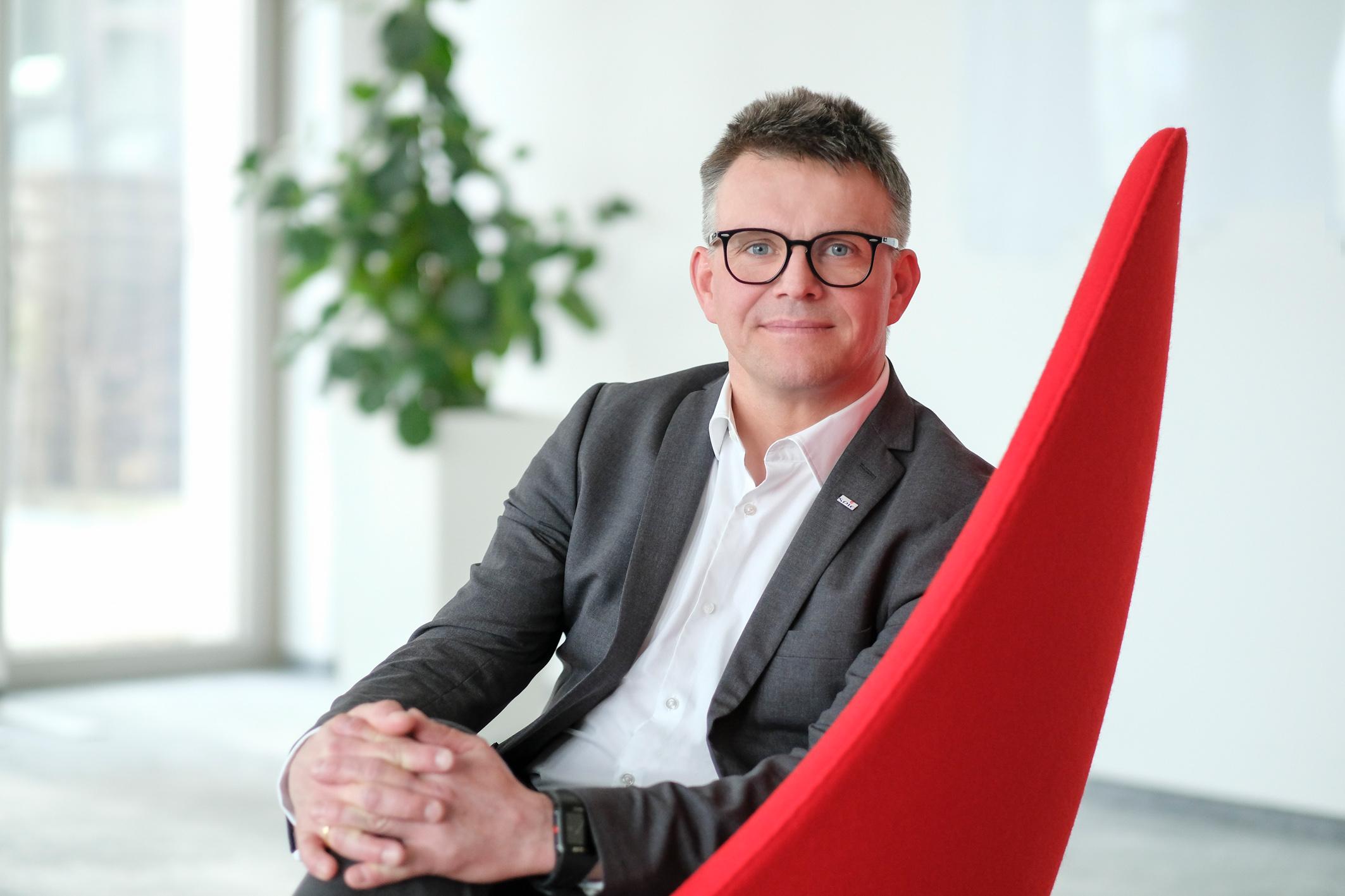 Burkhard Sager, Leiter Geschäftsbereich High Voltage - Bildnachweis SPIE
