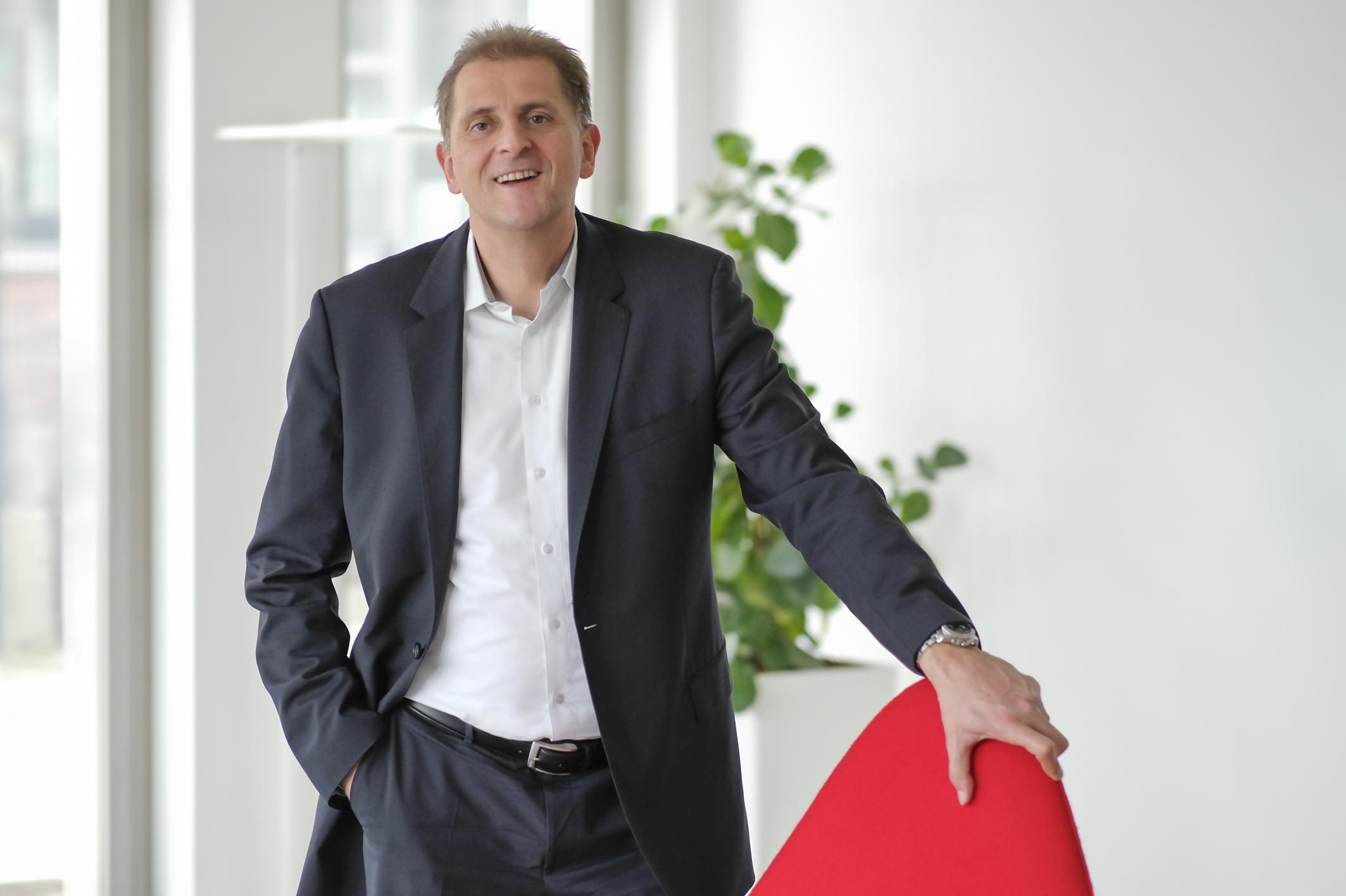 Dr. André Schimmel, Leiter Strategie & Geschäftsentwicklung