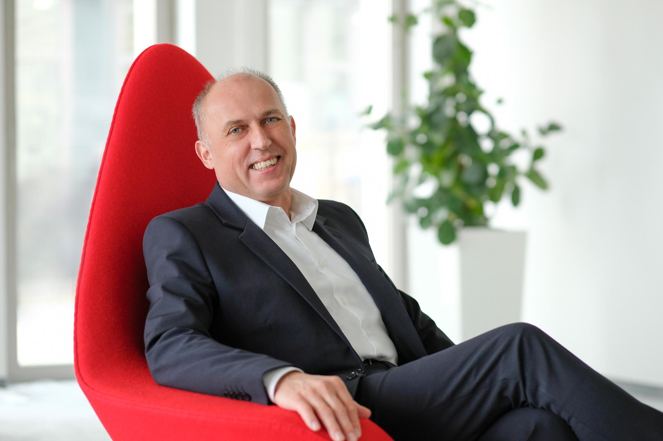 Dr. Pawel Skowronski, Leiter Geschäftbereich Central Europe