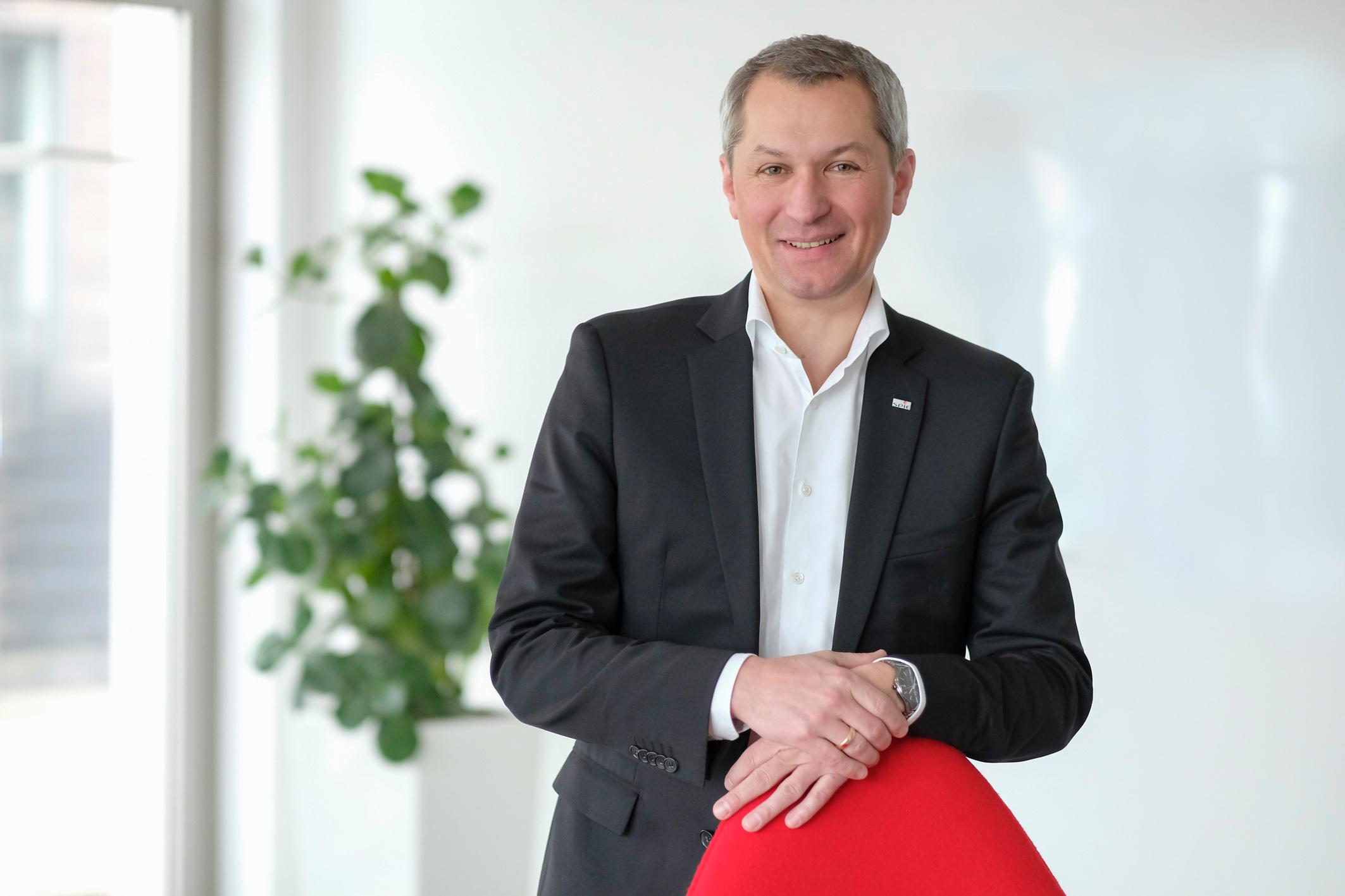 Rainer Hollang, Leiter Geschäftsbereich Efficient Facilities - Bildnachweis SPIE