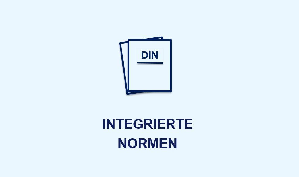 Icon Integrierte Normen