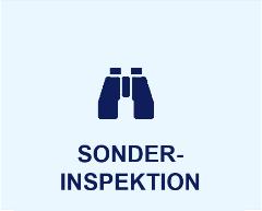 Symbol Sonderinspektion