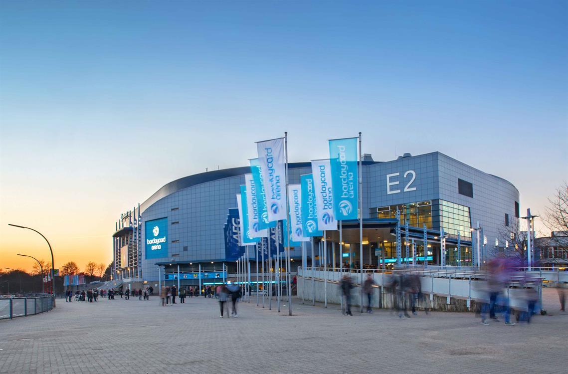 Barclaycard Arena Hamburg-Bildnachweis Barclaycard Arena