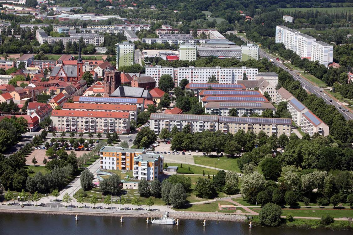 Schwedt Oder - Bildnachweis Stadt Schwedt Oder, Aerophoto Ltd. 2013